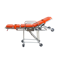 YXH-3E Aluminum Loading Ambulance Stretcher