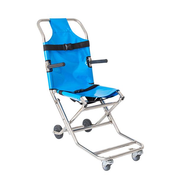 铝合金重量轻可调式楼梯担架病人